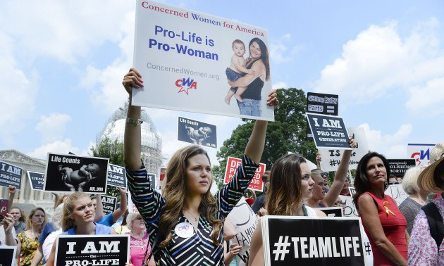 Rally Held In Support Of Cutting Planned Parenthood Funding - DC