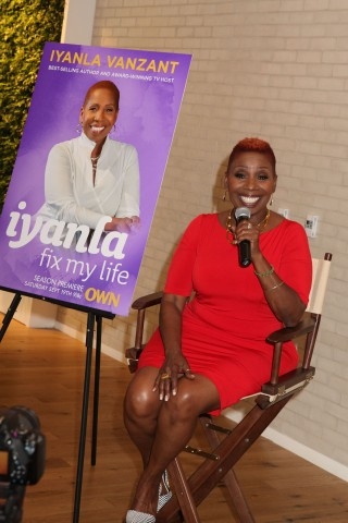 Meet And Greet With Iyanla Vanzant For OWN's 'Iyanla: Fix My Life'