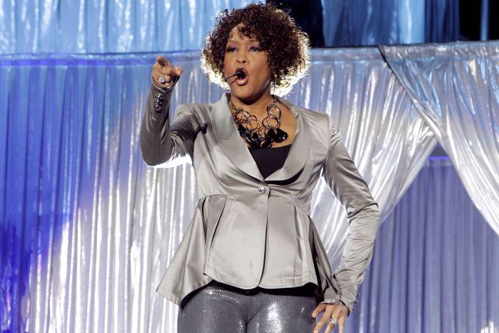 Houston, Whitney - Musician, Singer, Pop music, USA - performing in Oberhausen, Germany, Arena