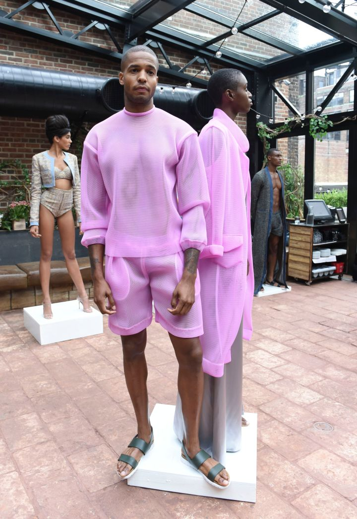 Laquan Smith SS16 Collection.