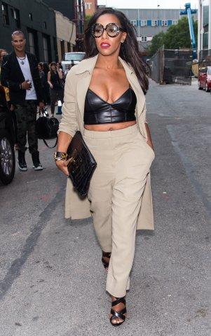 Seen Around Spring 2016 New York Fashion Week - Day 3