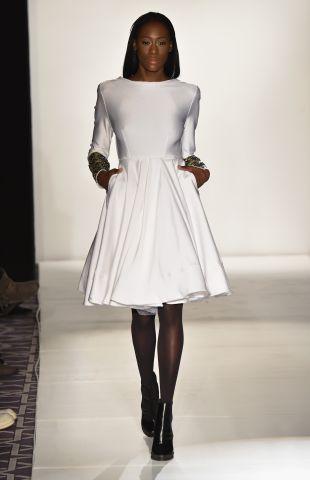 Ese Azenabor -Runway - Mercedes-Benz Fashion Week Fall 2015