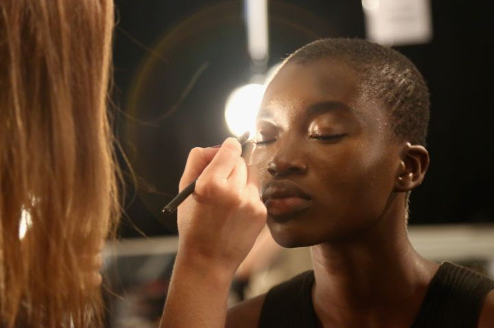 Angel Sanchez - Backstage - Spring 2016 New York Fashion Week: The Shows
