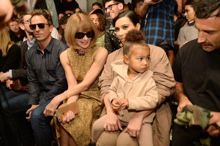 North West, Anna Wintour & Kim Kardashian West
