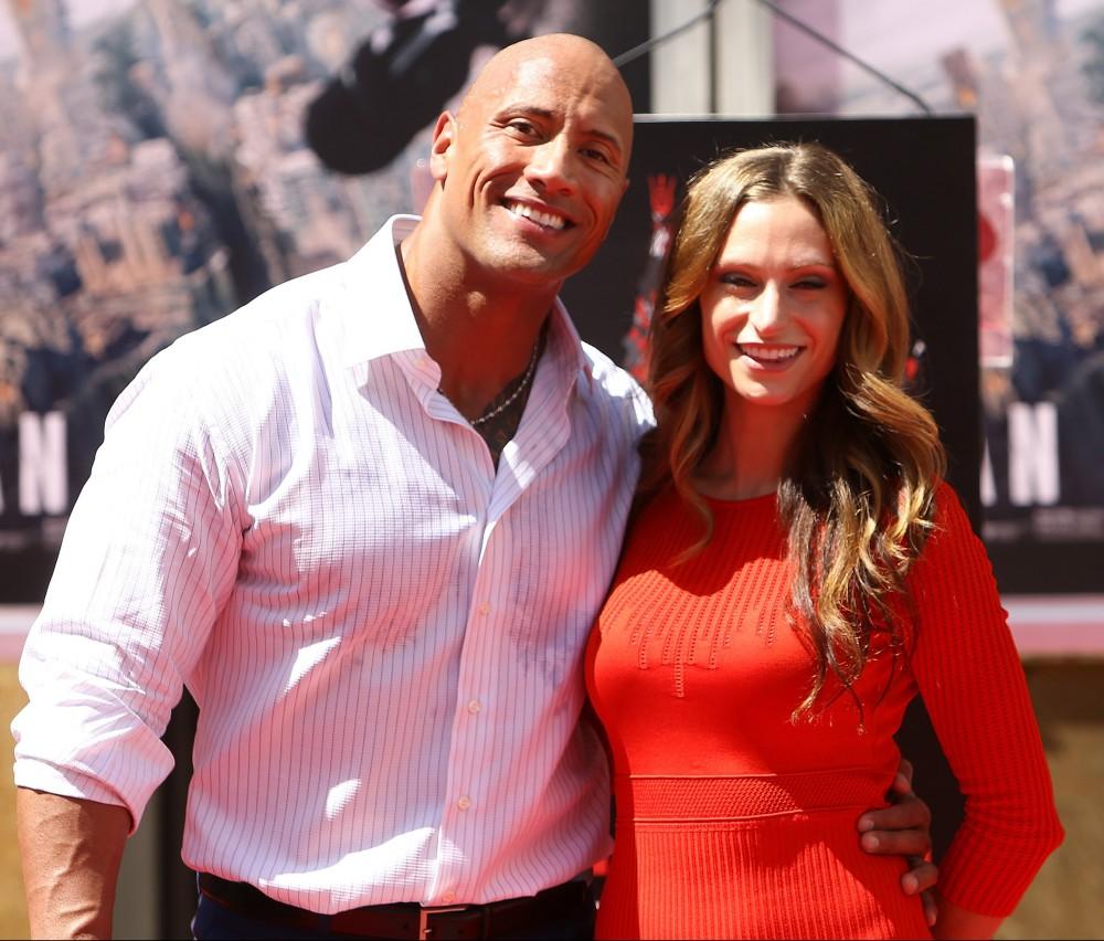 Dwayne 'The Rock' Johnson Hand/Footprint Ceremony