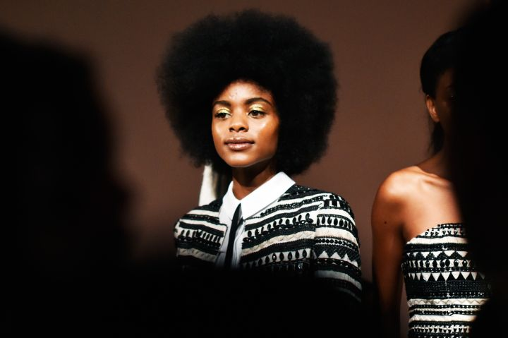Natural Hair Ruled the Runway: 20 'Fros We Loved at Fashion Week