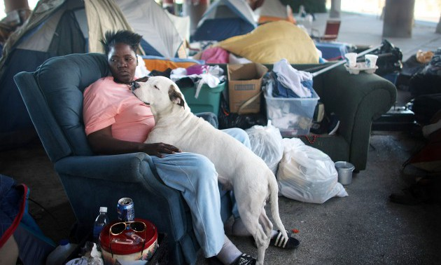 Homeless Population in New Orleans Doubles Following Katrina