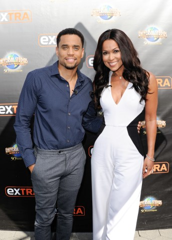 Michael Ealy On 'Extra'