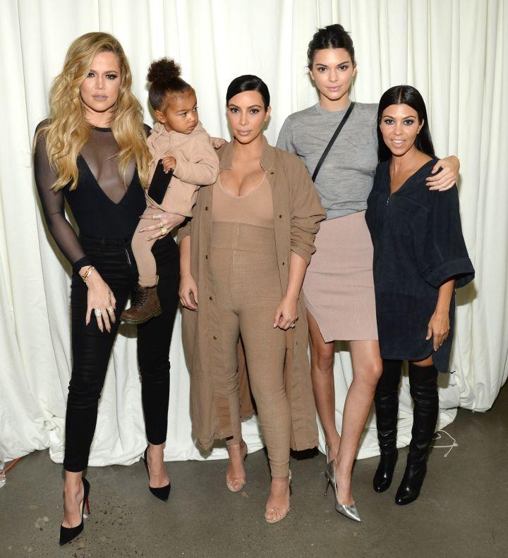 Khloe Kardashian, North West, Kim Kardashian West, Kendall Jenner & Kourtney Kardashian