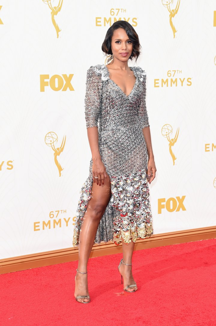 Kerry Washington attends the 67th Annual Primetime Emmy Awards