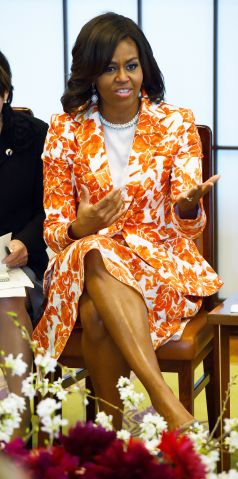U.S. First Lady Michelle Obama Visits Japan - Day 2