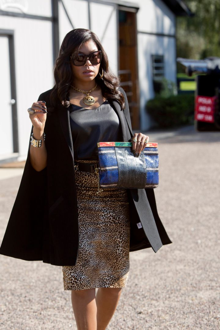 A Cape and Leopard Skirt