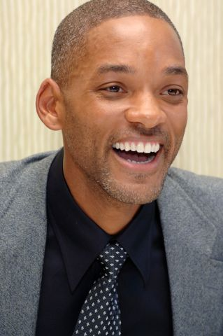 The Pursuit of Happyness Press Conference with Will Smith and Seal