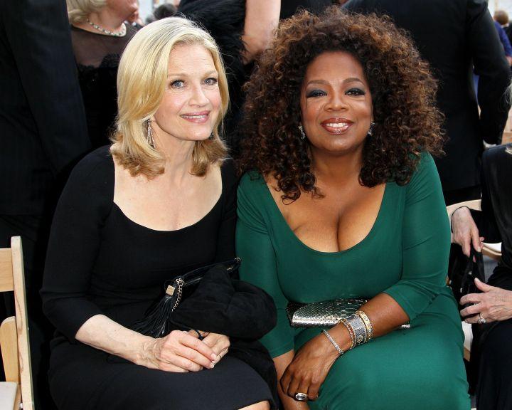 Oprah Winfrey & Diane Sawyr