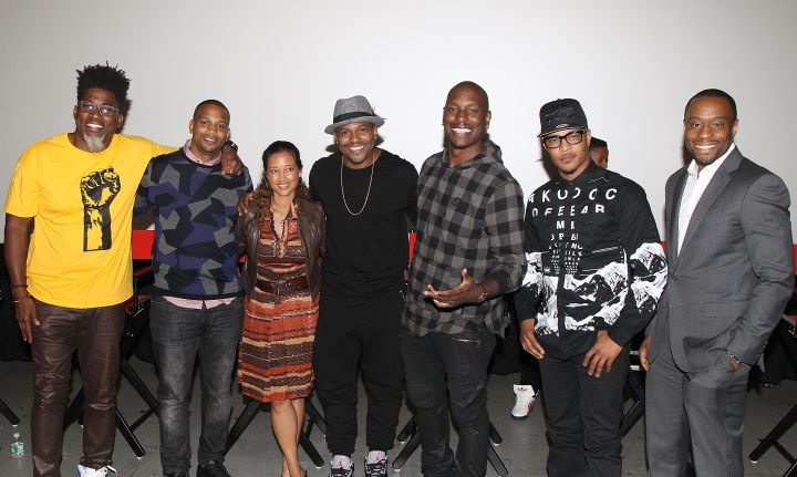 David Banner, Chike Ozah, Gabrielle Glore, Coodie Simmons, Tyrese Gibson, TI & Marc Lamont Hil