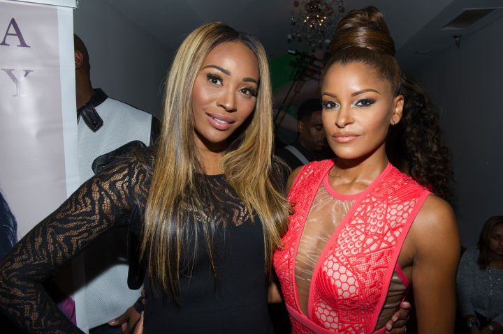 Claudia Jordan (pictured with Cynthia Bailey)