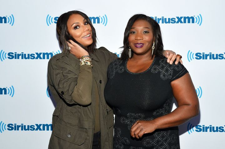 Tamar Braxton and Bevvy Smith