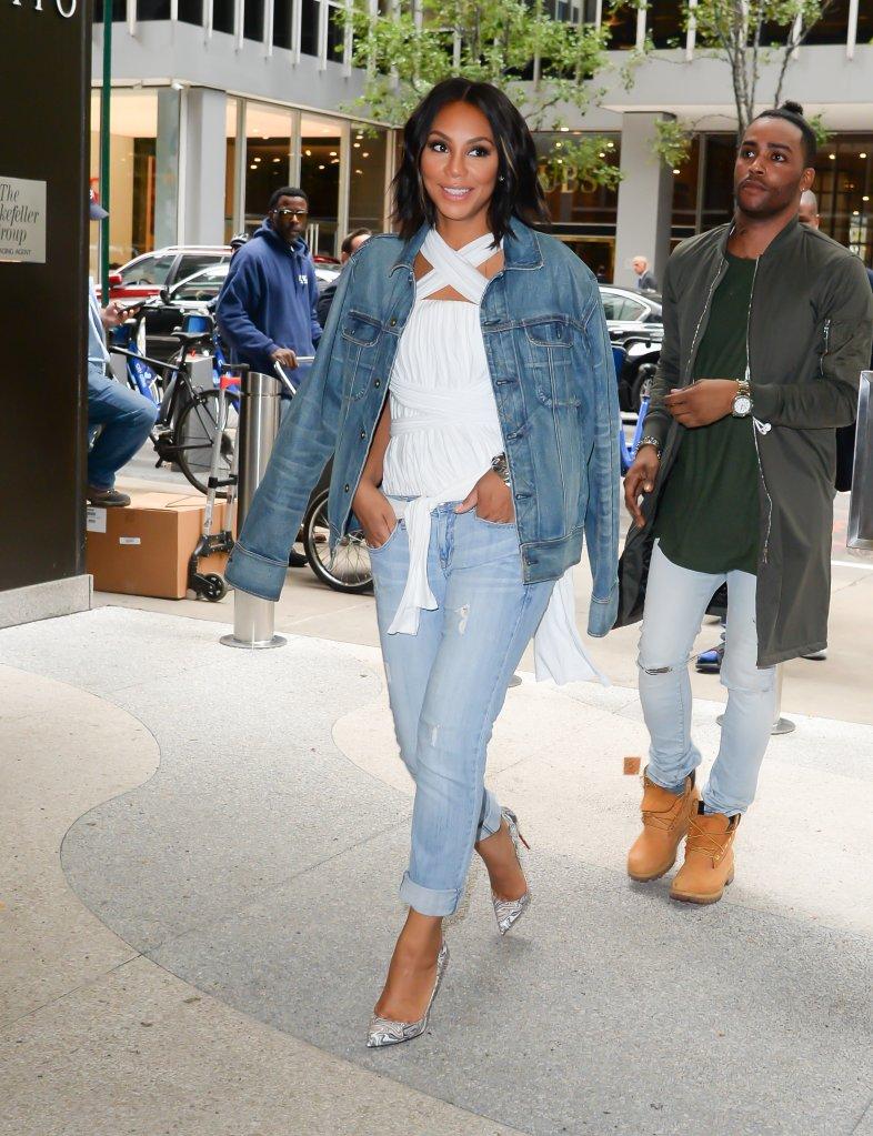 Celebrity Sightings In New York City - October 01, 2015