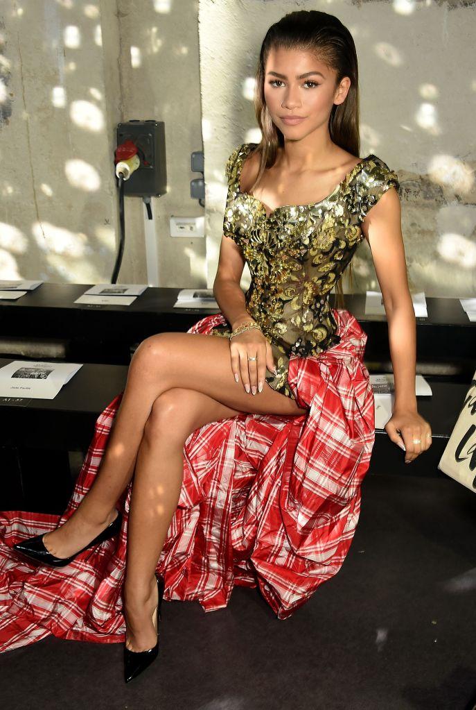 Vivienne Westwood : Front Row - Paris Fashion Week Womenswear Spring/Summer 2016