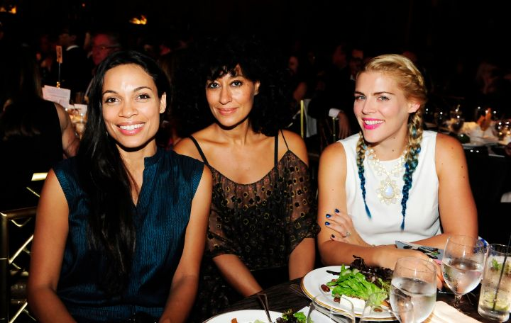 Rosario Dawson, Tracee Ellis Ross and Busy Philipps