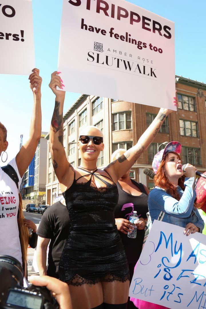 mber Rose's Slut Walk