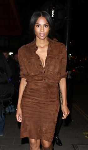 London Celebrity Sightings - October 8, 2015
