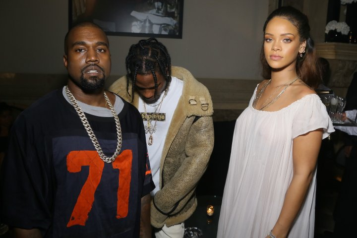 Kanye and Rihanna