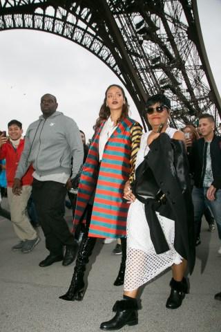 Rihanna Sighting In Paris - October 04, 2015