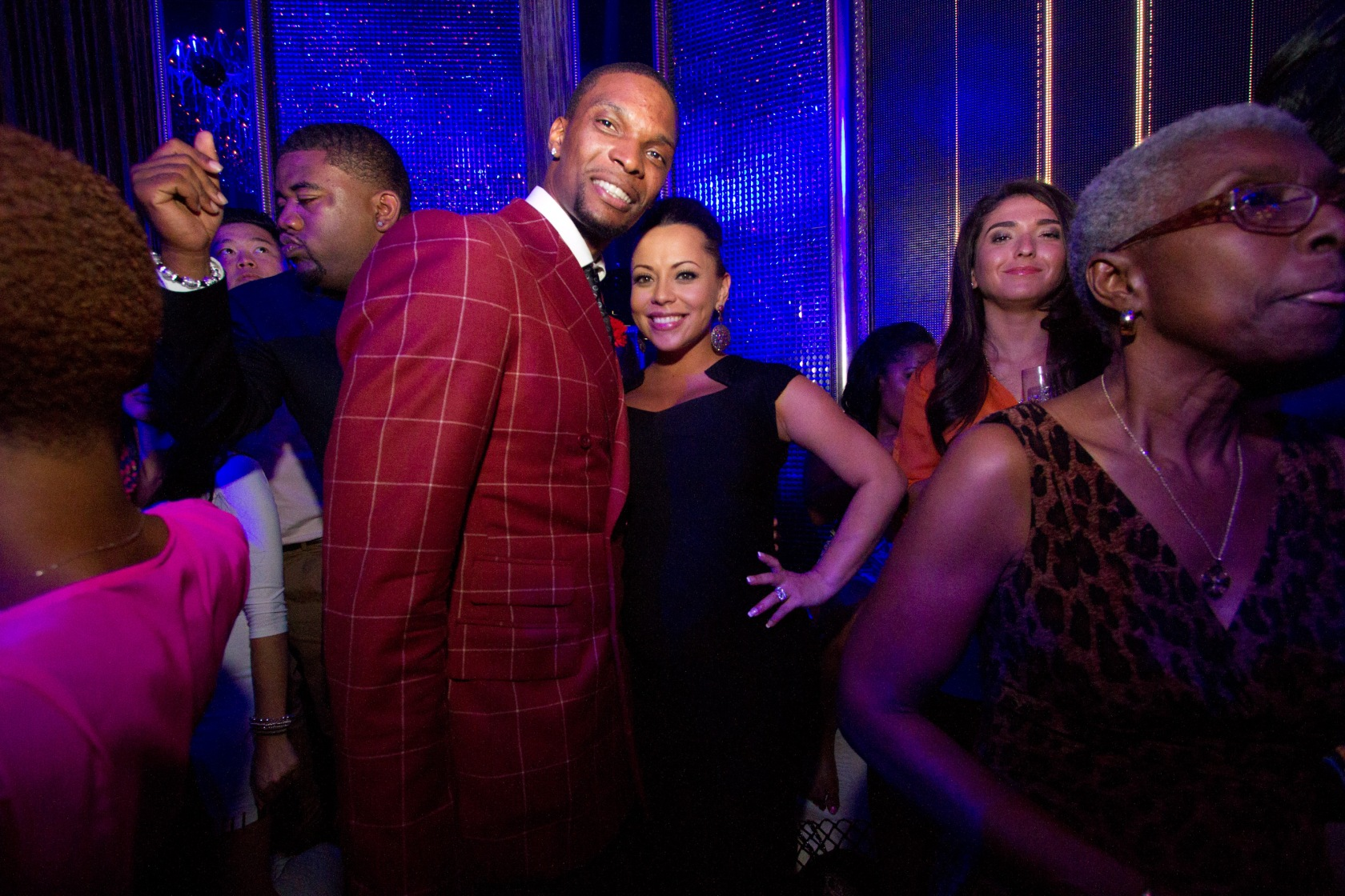 Ocean Drive Presents Chris Bosh's 28th Birthday Grey Goose Noir After Party
