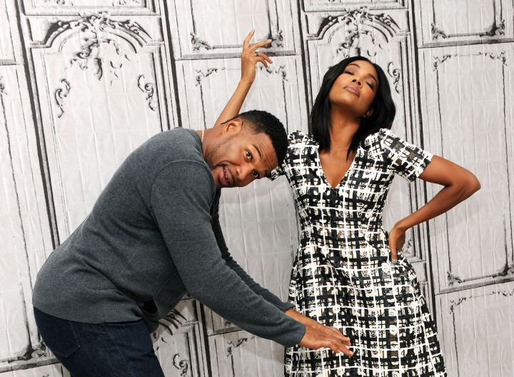 Gabrielle Union and Michael Strahan