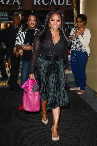 Celebrity Sightings In New York City - October 13, 2015
