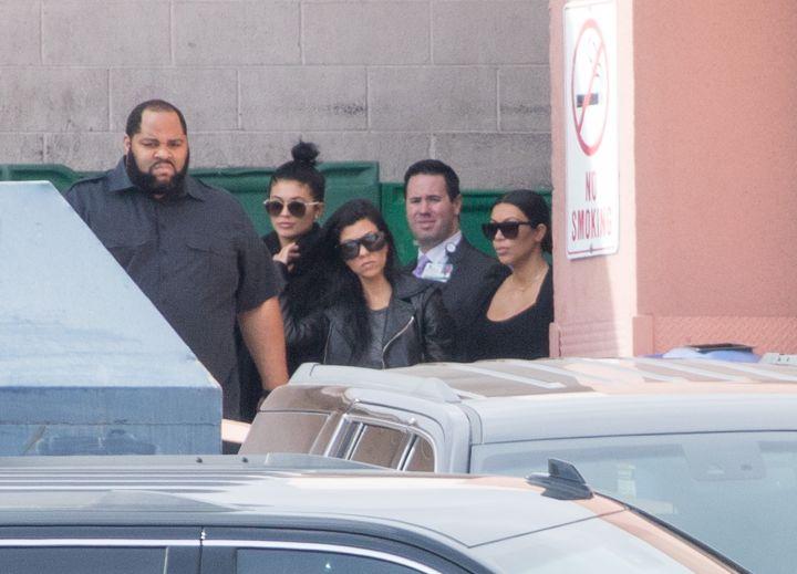 Kylie Jenner, Kourtney Kardashian, and Kim Kardashian