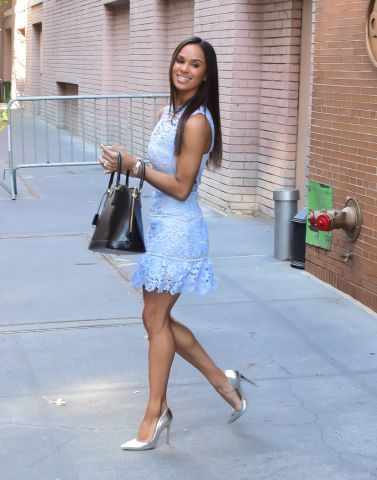 Celebrity Sightings In New York City - October 12, 2015