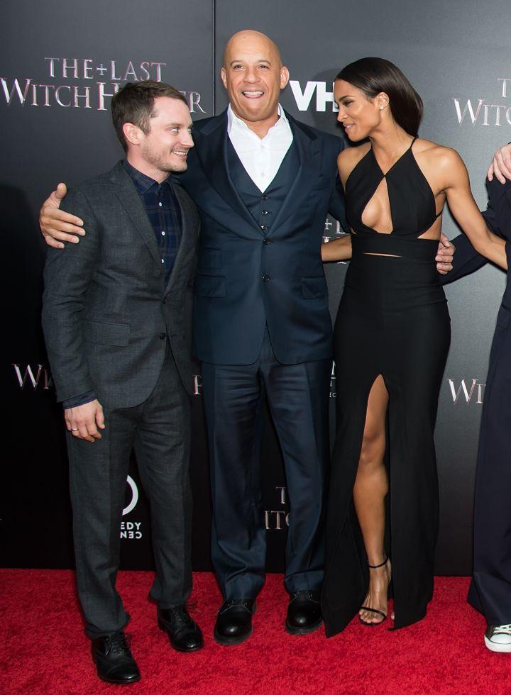 Elijah Wood, Vin Diesel, and Ciara