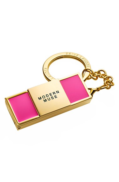 'Evelyn Lauder & Elizabeth Hurley Dream Pink – Modern Muse' Solid Perfume Keychain, $44.50