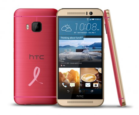 Limited Edition BCRF Pink HTC One® M9 Smartphone, $649
