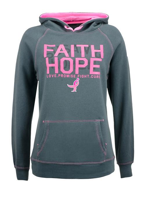 Faith Hope Komen Sweatshirt, $48