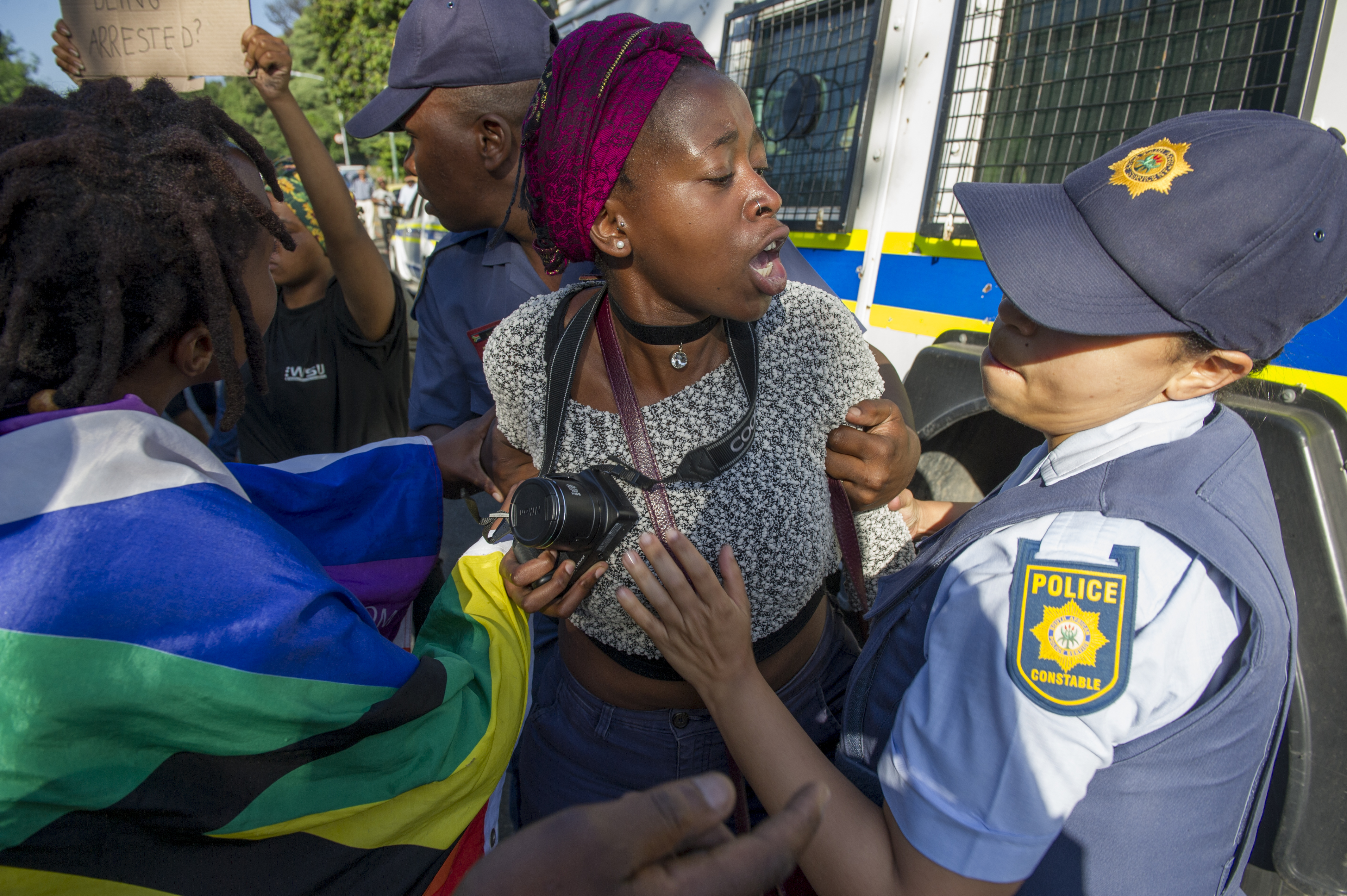 Students Protests in South Africa