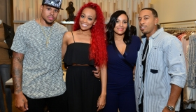 Unspoken Angels Charity Event For Domestic Violence Awareness Month With Founder Eudoxie Bridges