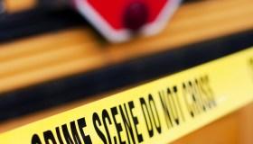 School Bus Crime Scene