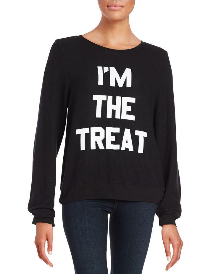 I'm The Treat Graphic Sweatshirt