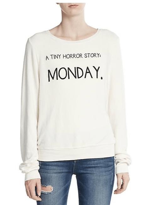 Tiny Horror Graphic Sweatshirt