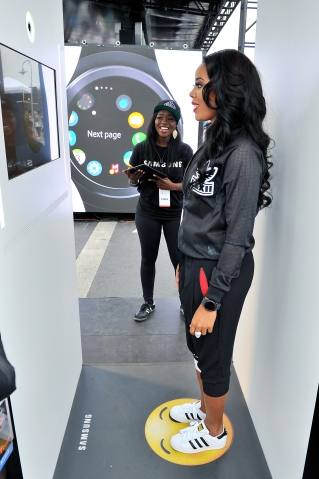 Samsung Experience At NBA Opening Night