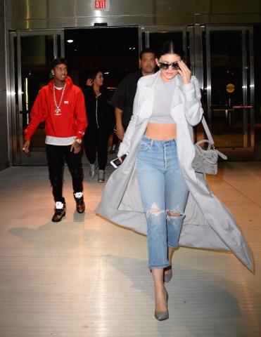 Celebrity Sightings In New York City - October 29, 2015