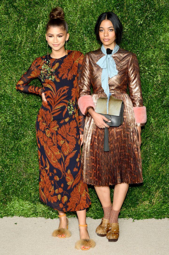 Zendaya & Fashion Fund Winner Aurora James