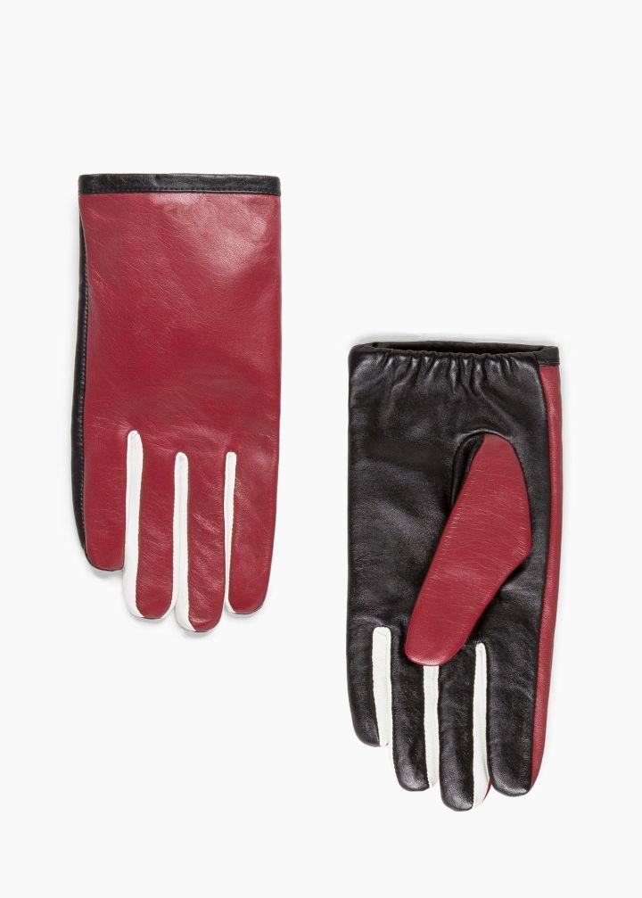 Tricolor Gloves