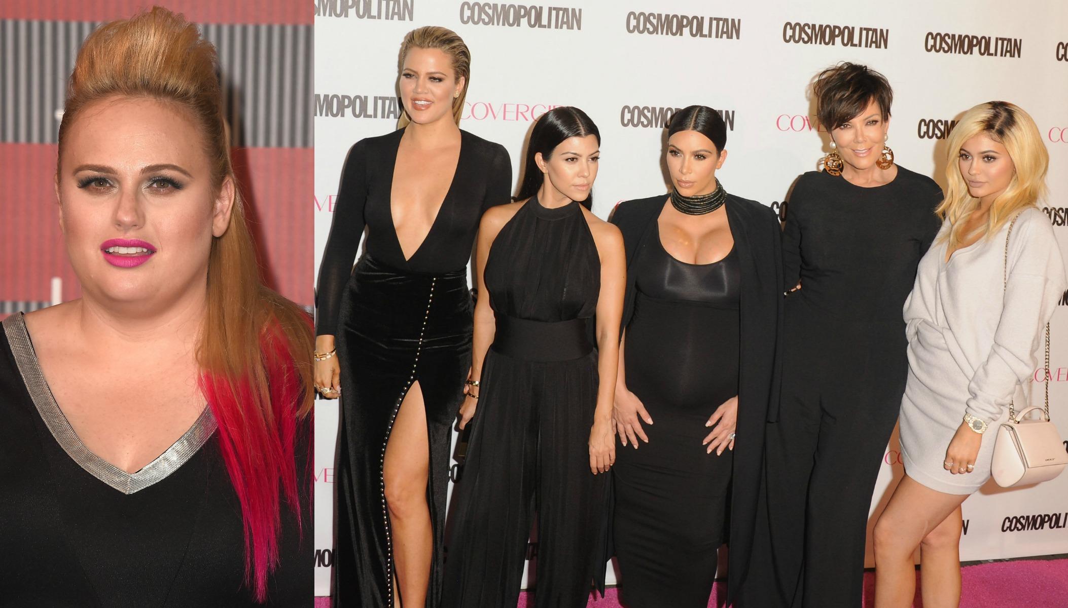 Rebel Wilson/ Kardashians