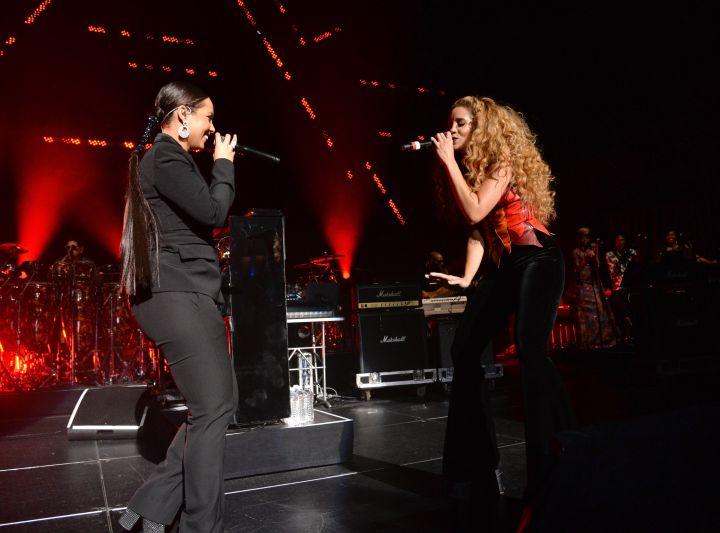 Alicia Keys & Lion Babe
