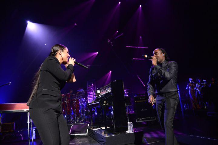 Alicia Keys & Wale