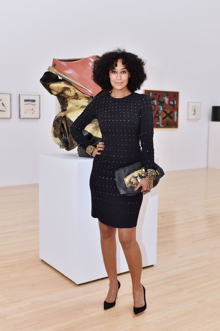 Tracee Ellis Ross At The Chloe, W Magazine And MOCA Host Private Rooftop Dinner Tuesday.
